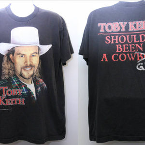 Other - 1996 Vintage TOBY KEITH- Shoulda Been A Cowboy Tee